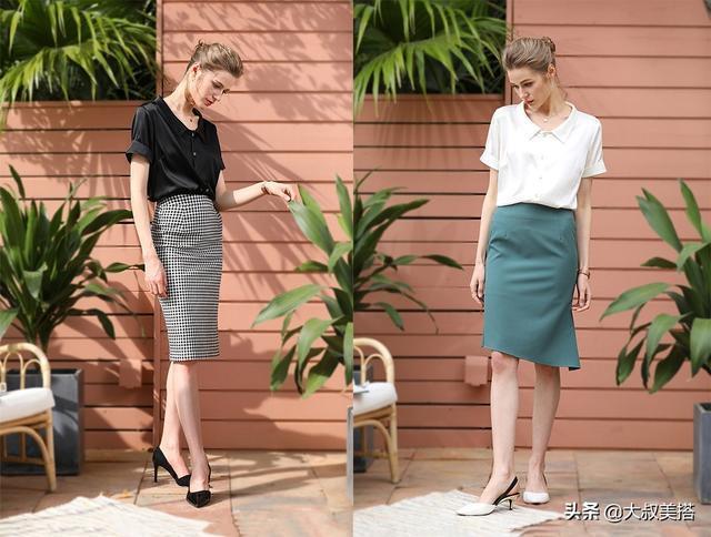 30多歲的女人,不管穿闊腿褲還是裙子,搭3種上衣,更顯氣質美!