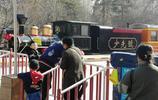 兒童公園小火車載客出發了,車票20元,你認為貴不?