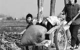80年代農村老照片:只有從農村出來的人才能懂,圖5女孩笑容淳樸