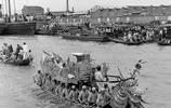 盛況空前,1948年的上海賽龍舟
