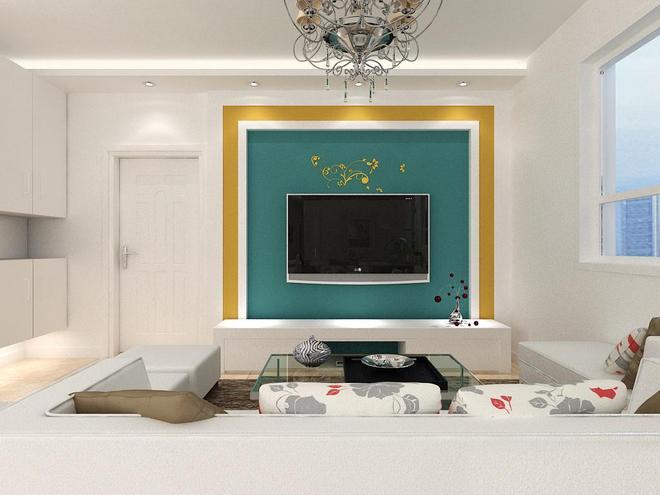 客廳電視機背景牆第五篇