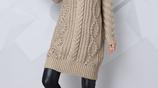胖冷的女人有福了!新出的毛衣裙,配短靴,保暖洋氣顯瘦美
