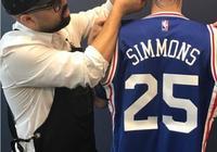 76人副總剃了個本-西蒙斯頭像