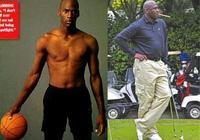"NBA球星退役前後身材對比:姚明成400斤胖子,科比化身""肥曼巴"""