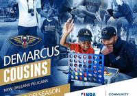 德馬庫斯-考辛斯獲得NBA休賽期社區關懷獎