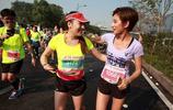 美女主持人伊一的馬拉松情緣,已經跑完了四個全馬,難怪身材好