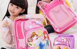 給女兒買了第2款書包,虎媽貓爸圖案,女兒天天喊著要上學