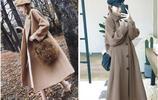 大衣穿得好,男神被撩倒,氣質美女的秋冬必備大衣