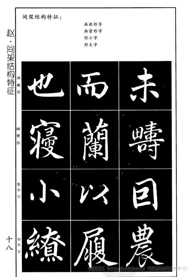 趙孟頫 楷書習字帖放大高清圖片,讓你學書事半功倍