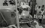老照片:多年前美國的車禍   看有現在的車禍嚴重不