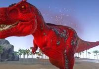 方舟生存進化的精英霸王龍,卻被玩家用無齒翼龍收拾了?