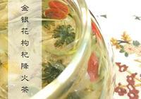 金銀花枸杞降火茶