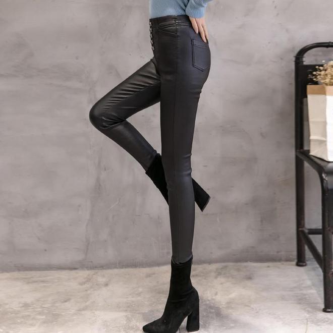 闊腿褲別穿了,進風!學學韓國女人這麼穿,保暖瘦腿特迷人