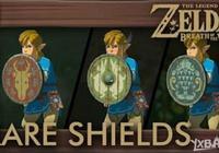 《塞爾達傳說:荒野之息》漁民盾牌及獵人盾牌位置圖解