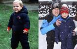 父子相沒商量,威廉王子與喬治小王子小時候的神似之處