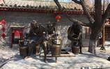 河南開封:這裡有個四眼井,宋朝時標準水井形式,可四人同時打水