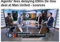 錢還沒到位?曼聯5年9000萬英鎊難續約德赫亞 一問題仍很棘手