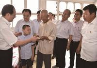 國家體育總局局長苟仲文帶領班子成員在代縣學習調研