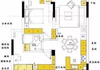 95平米美式輕奢風格兩居,高級灰調賦予空間高貴的氣質