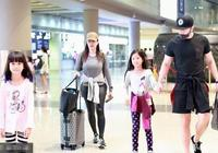 鍾麗緹張倫碩現身機場,手不老實 怪不得張倫碩越來越瘦!