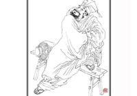明畫家崔子忠——擅畫人物,師法周文矩,畫風雋逸高古