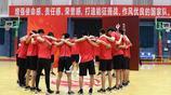 籃球——2019年籃球世界盃中國男籃集訓隊入隊儀式在京舉行