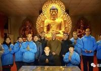 生漆脫胎工藝釋迦佛及地藏、虛空藏菩薩聖像恭制完畢