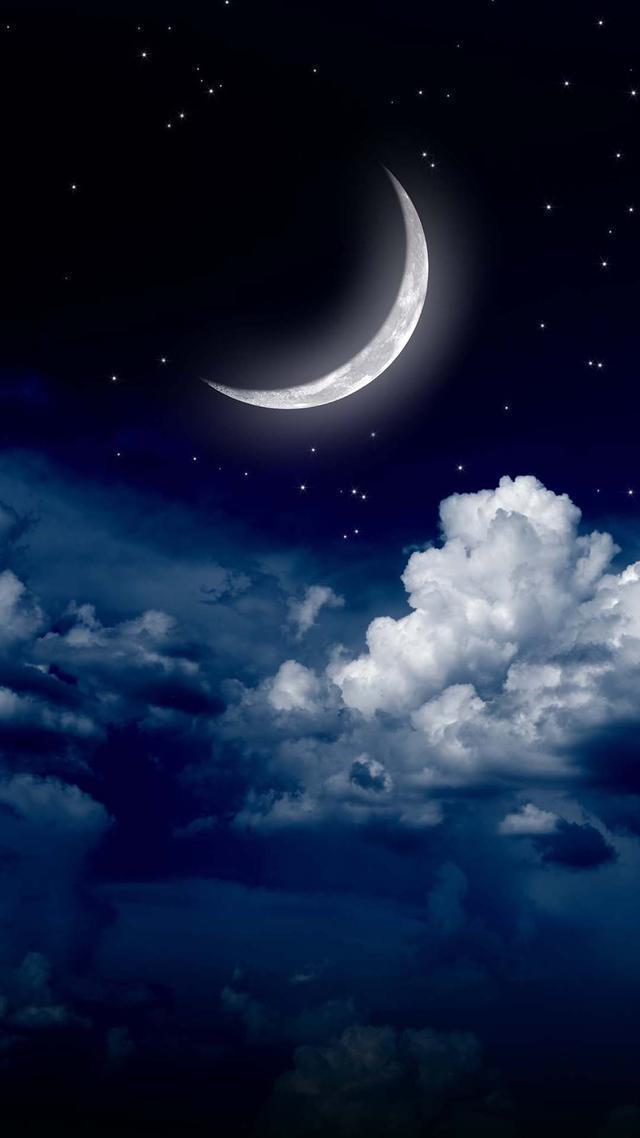 壁紙(七夕刊):提前把好看的月亮給你!