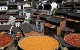 """江西:婺源古村""""晒秋""""圖 令人歎為觀止 這裡的農民太令人羨慕"""