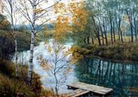 油畫世界 俄羅斯精美風景油畫欣賞