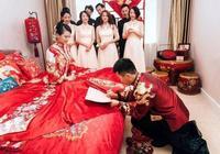 奧運冠軍吳敏霞大婚,老公比她小一歲,陳若琳當伴娘