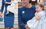 又想騙我生女兒系列!凱特王妃和夏洛特小公主的親子穿搭美翻了