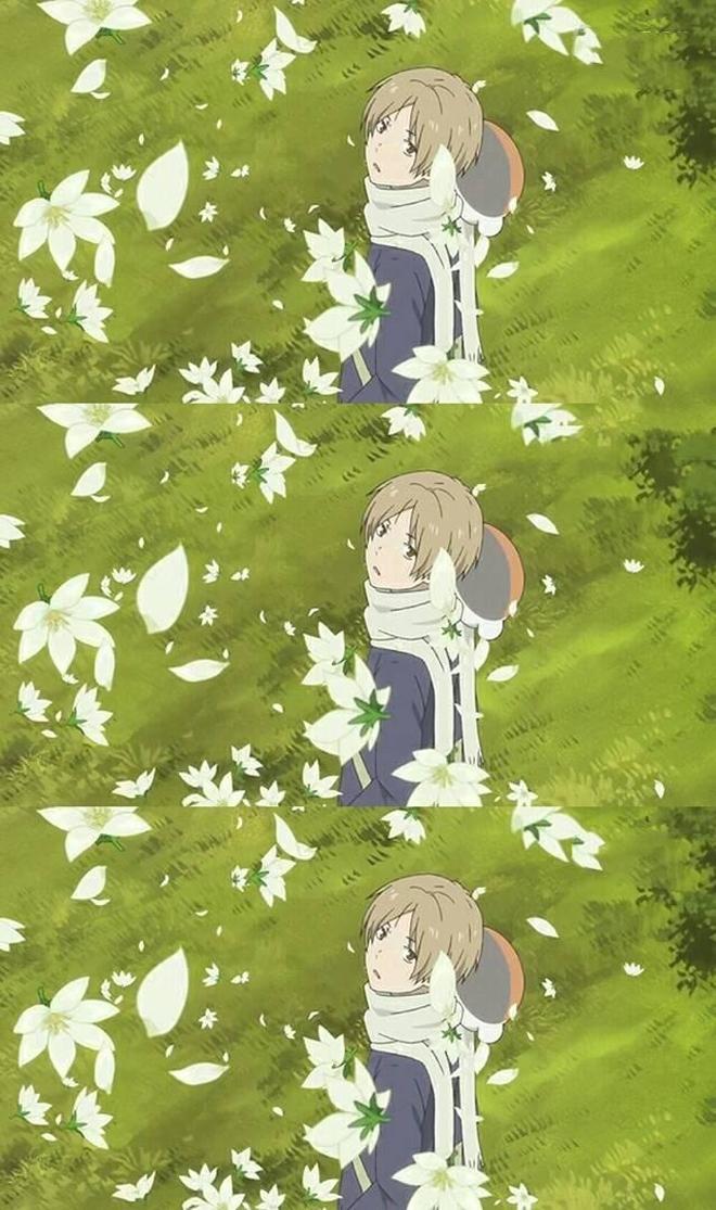 夏目友人帳:我家夏目美如畫,這樣的夏目用來做壁紙可好?
