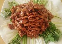 京醬肉絲的家常做法,醬香濃郁,肉絲滑嫩,鹹甜適中,超好吃!