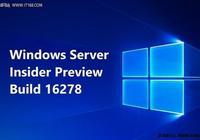 微軟發佈Windows Server build 16278
