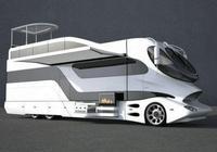 全球最貴的巨無霸房車,堪稱移動城堡,豪華程度媲美7星級酒店