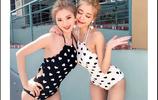 少女泳衣大放送,陽光姐妹淘,游泳必選7件泳衣!