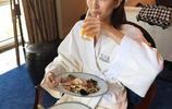 江疏影的氣質是吃出來的!看這大吃特吃的樣子,搞得我都餓了!