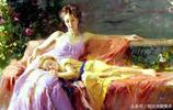 這組大師級的人物油畫太美了,尤其是這色彩很微妙,看了就喜歡