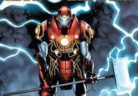 雷神鋼鐵俠合體,黑暗金屬打造鋼鐵俠戰甲,這不無敵了?