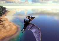 玩家在《方舟生存進化》馴服無齒翼龍,探索這片未知的神祕大地