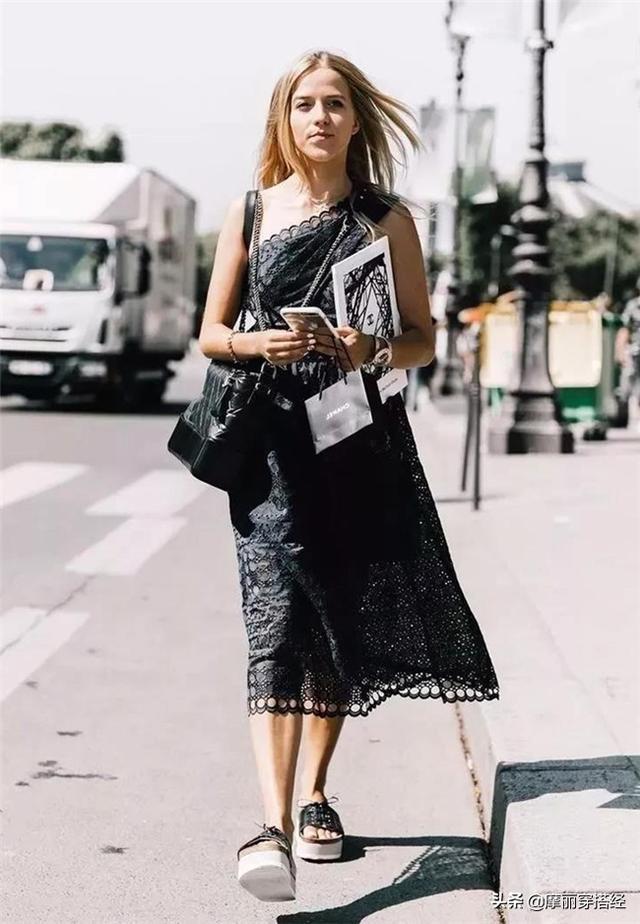 夏天不要只穿短褲,這3款裙子,氣質又減齡