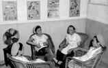 一組老照片,回看60年前,上海第二棉紡織廠女工的工作和生活