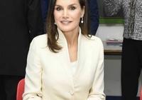 職場裝穿出簡約大氣範兒,西班牙王后簡直是教科書啊!好看還不貴