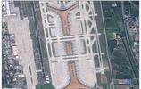 中國最大機場-北京首都國際機場衛星遙感圖