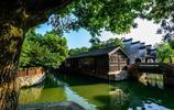 浙江湖州南潯古鎮高清風景圖