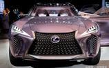 2017底特律車展實拍 雷克薩斯UX概念車 科幻大片來襲