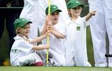 2017美國高爾夫球大師賽的孩子們