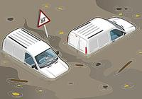 汽車之家小講堂——汽車入水,如何自救