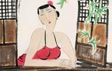 他以女性為主題,讓中國彩墨畫有了新氣象!